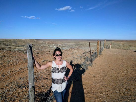 Coober Pedy, Australie : Visit to the Dog Fence
