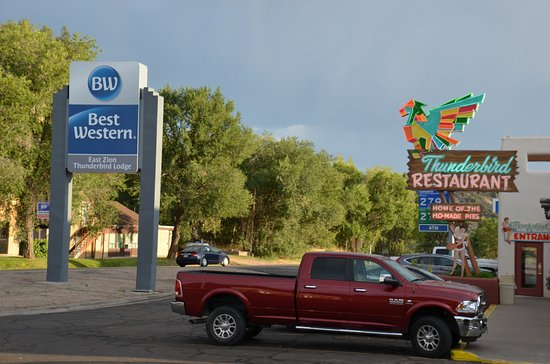 Best Western East Zion Thunderbird Lodge: BW direkt an der Junction