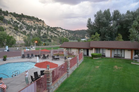 Best Western East Zion Thunderbird Lodge: Schöner Pool