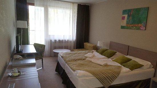 Brezno, Eslováquia: our room