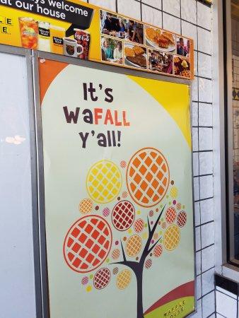Daphne, AL: It's Wa-Fall, y'all