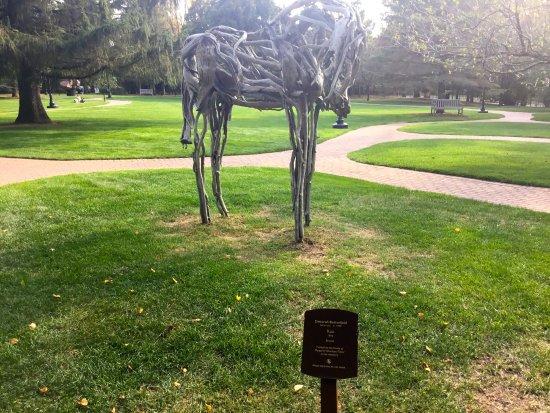 Wausau, WI: Bronze Horse