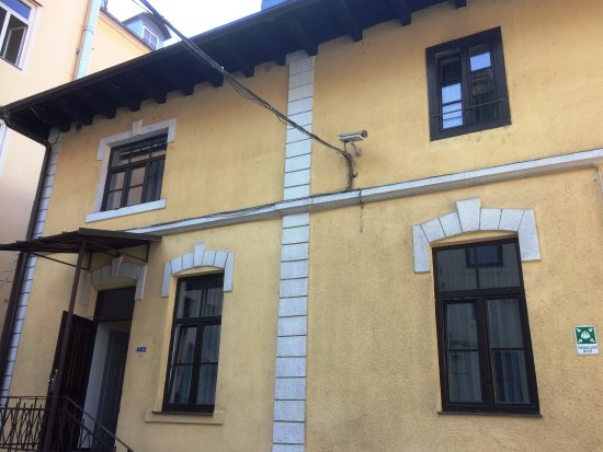 Hotel Emonec: fachada interna