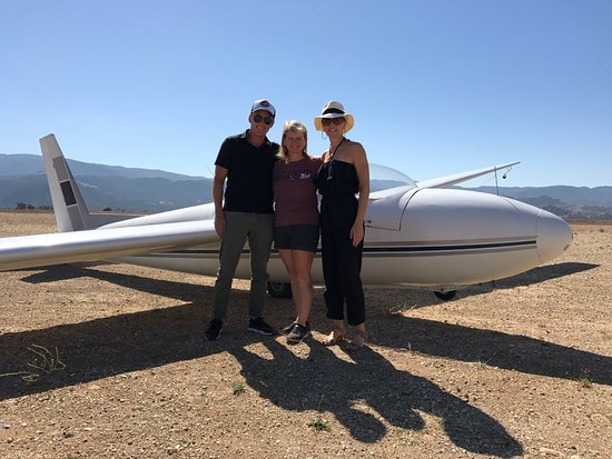 Santa Ynez, CA: Todd and I with our pilot Terry