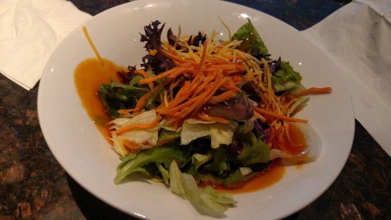 Orange Park, Floride : Salad with French dressing
