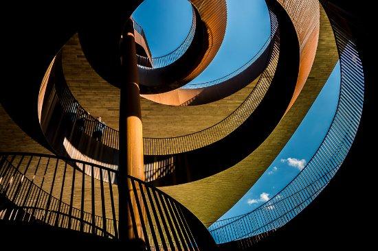 San Casciano in Val di Pesa, Italy: Antinori nel Chianti Classico - fantastic stairwells.