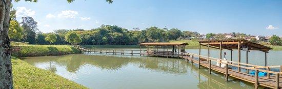 Blue Tree Park Lins: Vista do Lago