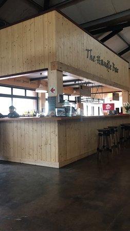 Grabouw, Sudáfrica: bar area