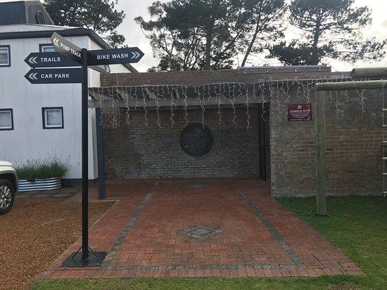 Grabouw, Sudáfrica: entrance