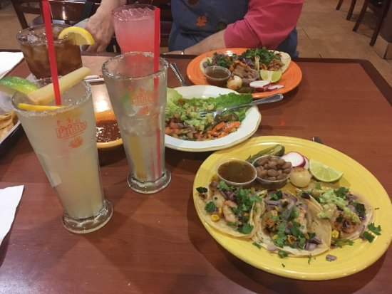 Concord, CA: Delicious shrimp tacos (and margaritas)