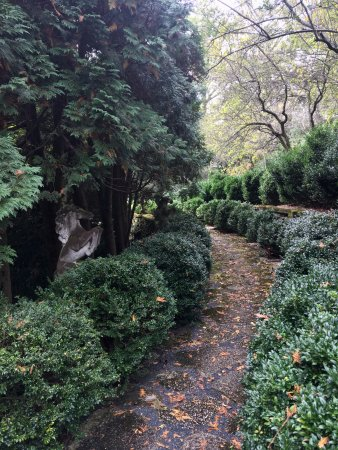 Short Hills, NJ: One of the walkways.