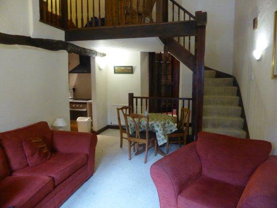 Simonsbath, UK: the spacious lounge