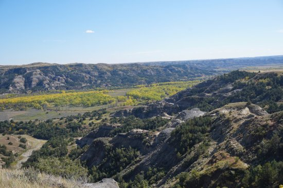Theodore Roosevelt National Park, Βόρεια Ντακότα: Beyond the Sperati Point Trail