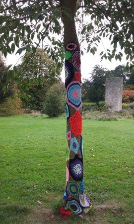 Blarney Castle & Gardens: Gardens surround the castle. Very calm.
