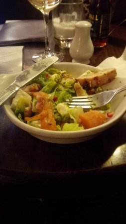 Quedgeley, UK: The smallest salad I ever eat