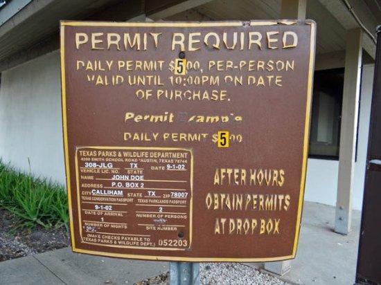 Three Rivers, TX: permit