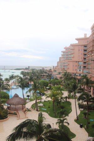 Grand Fiesta Americana Coral Beach Cancun: view from 512 (d)