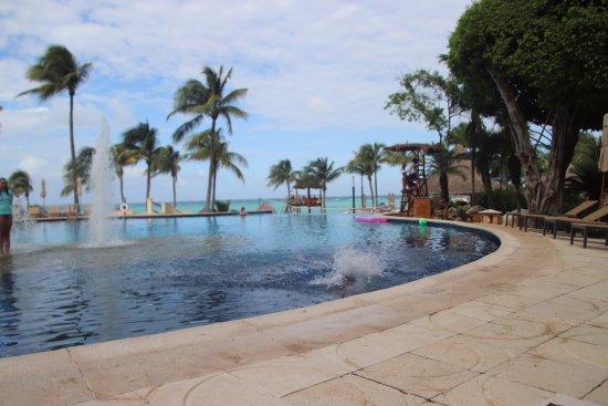 Grand Fiesta Americana Coral Beach Cancun: 1st pool (b)