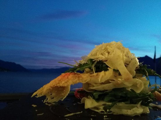 Hotel Camin Colmegna: nicht nur wegen dieser aussicht schmeckt das essen!!!