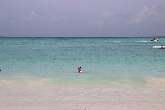Grand Fiesta Americana Coral Beach Cancun: View from beach chair
