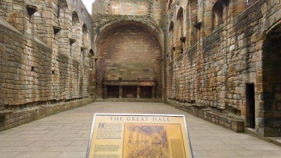 Linlithgow, UK: когда-то был главный холл