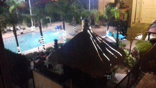 Hilton Garden Inn Orlando International Drive North: view of pool from window