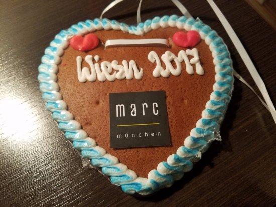 Marc München : Welcome Cookies for Oktoberfest