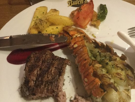 b63393a34f25 Surf and turf at Butch s - Picture of Sandals Barbados