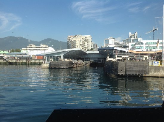 North Vancouver, Kanada: Back to the north terminal