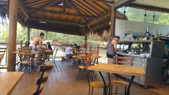 Brotas, SP: Restaurante