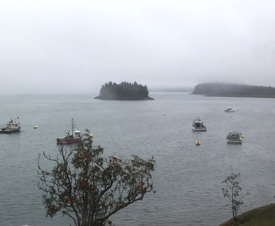 Lubec, ME: View from Rum Runner, The Inn at the Wharf