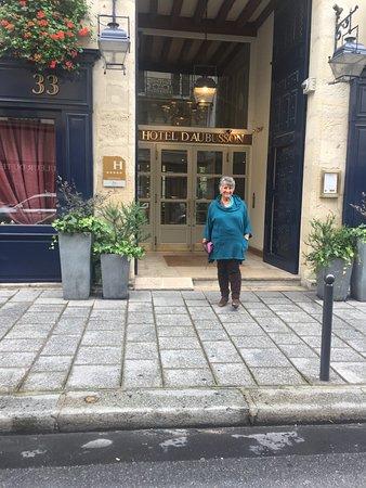 Hotel d'Aubusson: Entrance