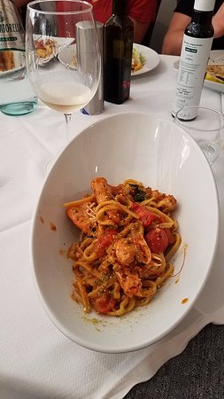 Locanda Colibri: Pasta with Mullet and Tomatoes