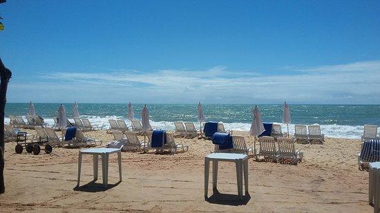 Praia com muito conforto. - Foto de Club Med Trancoso, Trancoso ... 5a63586e07