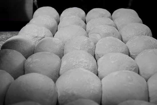 Warragul, Avustralya: House made Dough ready for rolling into Pizza Bases
