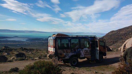 Calafate Mountain Park: Gran camión para hacer travesía 4x4.