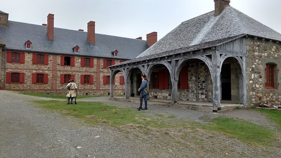 Louisbourg, Canadá: The fortress guards