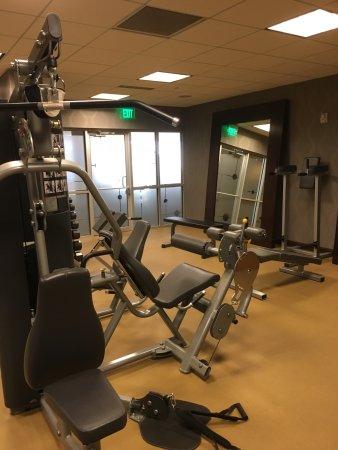 Decent size gym picture of moonrise hotel saint louis tripadvisor