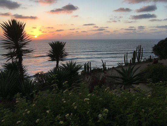 Encinitas, CA: Sunset at the Meditation Gardens