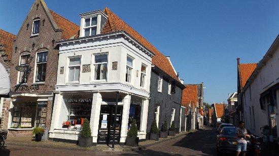 Het Geheim van Edam: la esquina de Spui y Prinsestraat a 50 metros del restaurant