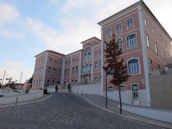 Monte Real, Portugal: Fachada de dia