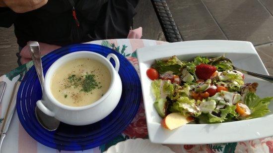 Annapolis Royal, Canada: Seafood chowder