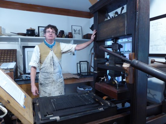 The Printing Office of Edes & Gill: Press