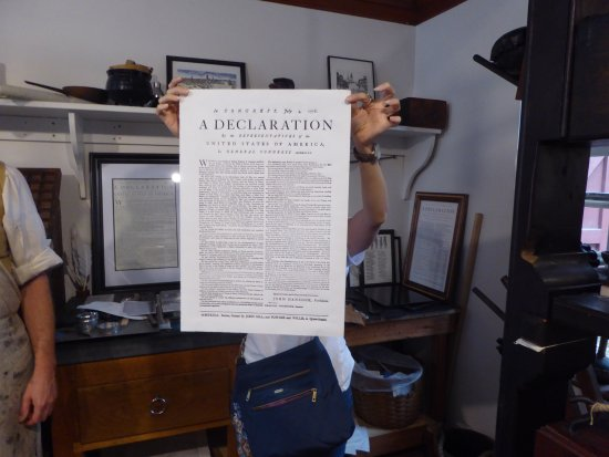 The Printing Office of Edes & Gill: Declaration