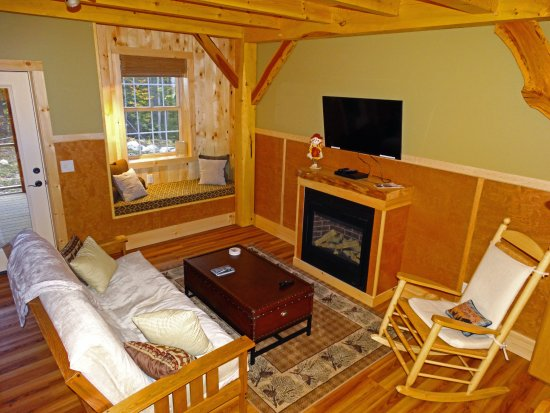 Ripton, VT: Living Room