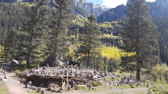 Mountain Village, Колорадо: Found this on the Bear Creek Trail.