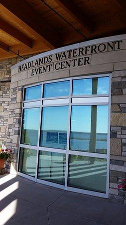 Mackinaw City, ميتشجان: Headland Event Center-Front