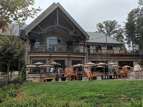 Mills River, NC: Taproom