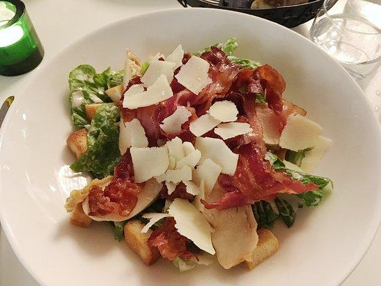 Kista, Suecia: Caesar salad