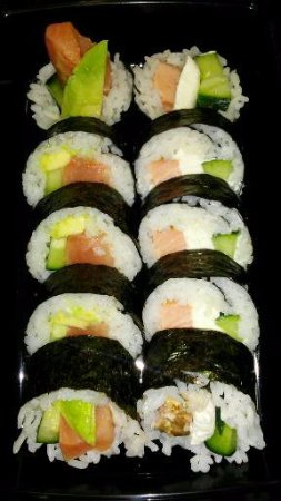 Elizabethtown, Pensilvania: Salmon Roll & Philly Roll
